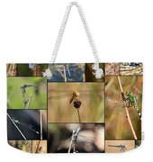 Collage Marsh Life Weekender Tote Bag