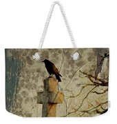 Collage Of Crow Weekender Tote Bag