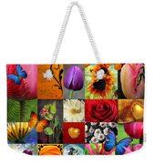Collage Of Happiness  Weekender Tote Bag