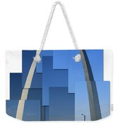 Collage Of St Louis Arch Weekender Tote Bag