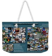 Collage Photography Services Weekender Tote Bag