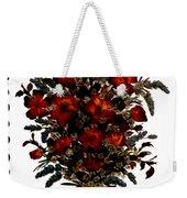 Collage With Roses And Lavander Weekender Tote Bag