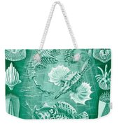 Collection Of Teleostei Weekender Tote Bag by Ernst Haeckel