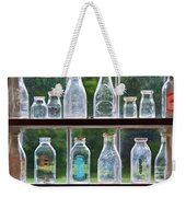 Collector - Bottles - Milk Bottles  Weekender Tote Bag