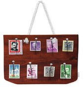 Collector - Stamp Collector - My Stamp Collection Weekender Tote Bag