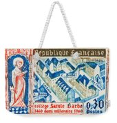 College Of St. Barbe 1460-1960 Half A Millennium Weekender Tote Bag