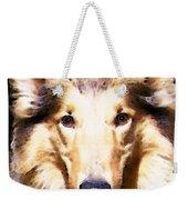 Collie Dog Art - Sunshine Weekender Tote Bag