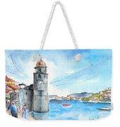 Collioure Tower Weekender Tote Bag