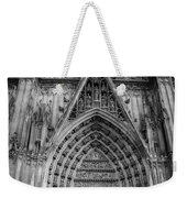 Cologne Cathedral 11 Bw Weekender Tote Bag