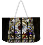 Cologne Cathedral Stained Glass Window Of St Paul Weekender Tote Bag