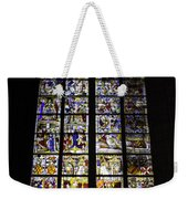 Cologne Cathedral Stained Glass Window Of St Peter And Tree Of Jesse Weekender Tote Bag