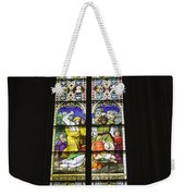 Cologne Cathedral Stained Glass Window Of St. Stephen Weekender Tote Bag