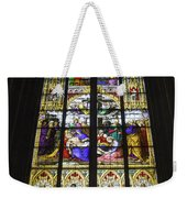 Cologne Cathedral Stained Glass Window Of The Lamentation Weekender Tote Bag