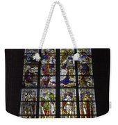 Cologne Cathedral Stained Glass Window Of The Nativity Weekender Tote Bag