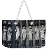 Cologne Cathedral Statuary Weekender Tote Bag