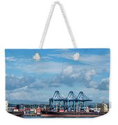 Colon Container Terminal, Panama Canal Weekender Tote Bag
