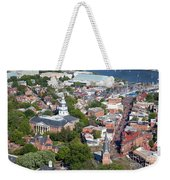 Colonial Annapolis Historic District And Maryland State House Weekender Tote Bag