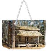 Colonial Cabin Weekender Tote Bag