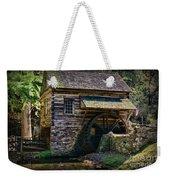 Colonial Grist Mill Weekender Tote Bag