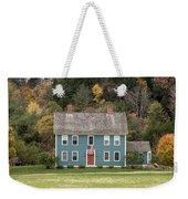 Colonial Home Weekender Tote Bag
