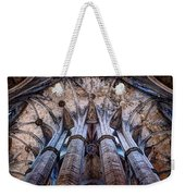 Colonnade And Stained Glass No1 Weekender Tote Bag