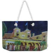 Colony Hotel At Night. Delray Beach Weekender Tote Bag