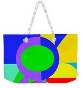 Color And Shape Series #1 Weekender Tote Bag