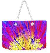 Color Burst Agave Weekender Tote Bag