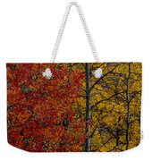 Color Changes Weekender Tote Bag