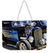 Color Chrome 1932 Black Ford Coupe Weekender Tote Bag