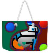 Color Field Weekender Tote Bag