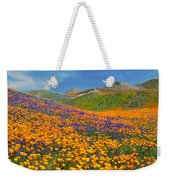 Color Filled Hills Weekender Tote Bag