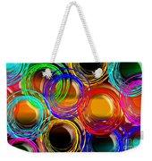 Color Frenzy 1 Weekender Tote Bag by Andee Design