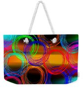 Color Frenzy 3 Weekender Tote Bag