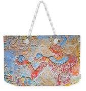 Color Hieroglyph Weekender Tote Bag