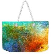 Color Infinity - Abstract Art By Sharon Cummings Weekender Tote Bag by Sharon Cummings