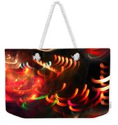Color Light Motion Weekender Tote Bag