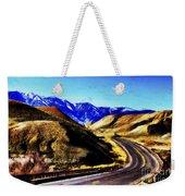 Color My Road Weekender Tote Bag
