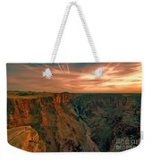 Color Of The Grand Canyon South Rim V8 Weekender Tote Bag