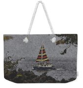 Color Of The Sails Weekender Tote Bag