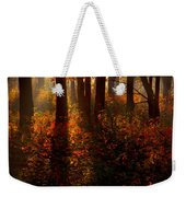 Color On The Forest Floor Weekender Tote Bag