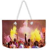 Color Run Weekender Tote Bag