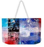 Color Scrap Weekender Tote Bag by Nancy Merkle