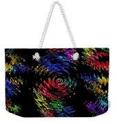 Color Spin Weekender Tote Bag