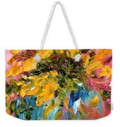 Color Splash Weekender Tote Bag by Barbara Pirkle