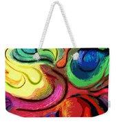 Color Swirl Weekender Tote Bag