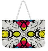 Color Symmetry 3 Weekender Tote Bag