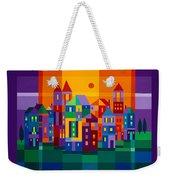 Color Town Weekender Tote Bag
