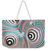 Color Waves Weekender Tote Bag