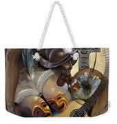 Color Y Cultura Weekender Tote Bag by Ricardo Chavez-Mendez